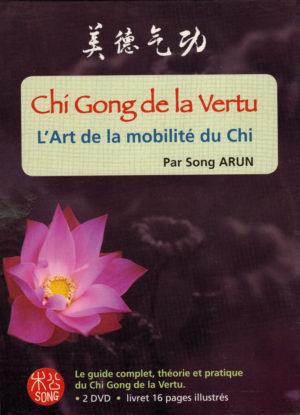 couverture du DVD chi gong de la vertu