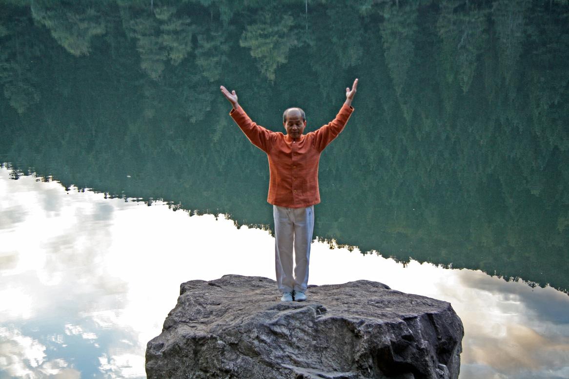song équilibre au lac